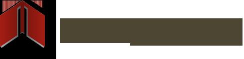 Grafika przedstawia logo biblioteki - czerwona książka