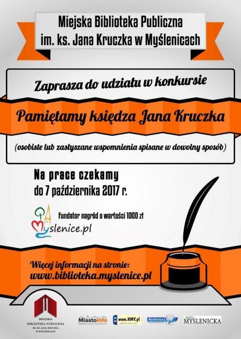 KONKURS Pamiętamy księdza Jana Kruczka