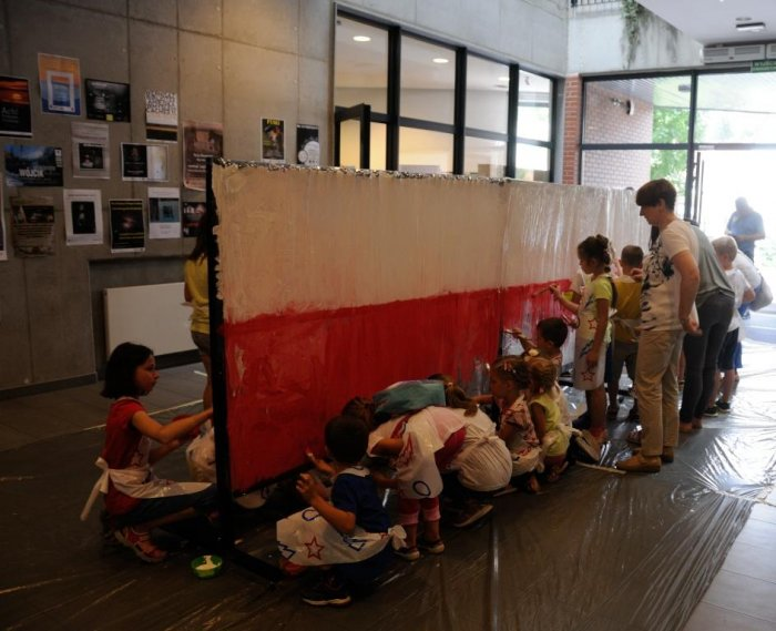 Malujemy flagę Polski