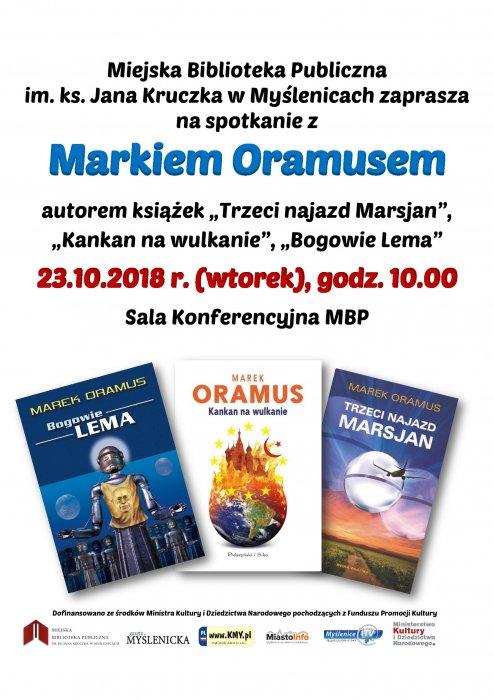 Spotkanie autorskie z Markiem Oramusem