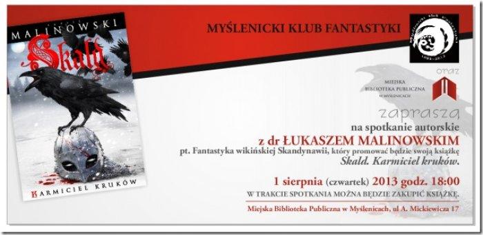 Spotkanie z dr Łukaszem Malinowskim