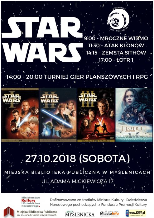 Star Wars w Bibliotece