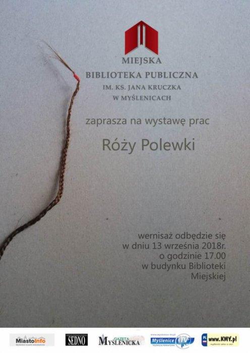 Wystawa prac Róży Polewki