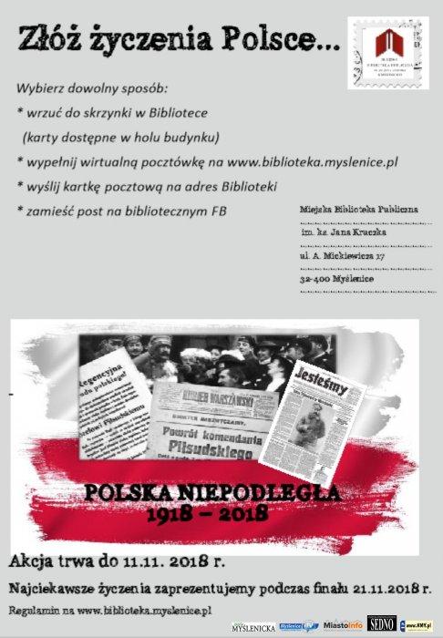 Złóż życzenia Polsce